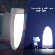 LED Rechargeable Motion Sensor Safety Night Light Lamp For Emergency Power Cut