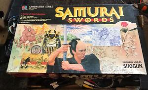 Shogun AKA Samurai Swords MB Gamemaster Series, 1986 Vgc