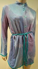 MISSONI SPORT Women's Multi-Colour Geometric Striped 2PC Top & Cardigan 48 UK16