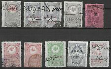 TURKEY FISCALS REVENUES STAMPS VERY FINE CONDITION