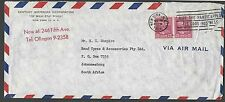 DATED 1951 COVER PREXY 25c #829 X 2 = 50c DOUBLE RATE AIR MAIL TO SEE INFO