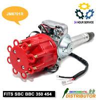 Distributor Ready To Run w/Coil For HEI Chevy V8 SBC BBC 350 454 Small Big Block