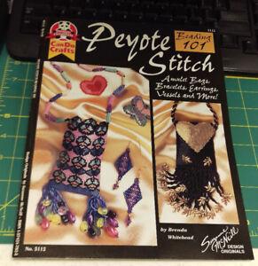 2000 Design Originals by Suzanne McNeill Peyote Stitch Beading 101 Book 5112