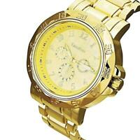 Luxury Heavy Gold Watches Various Styles Wristwatch (Luxury BIG XL styles)