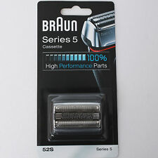 BRAUN Series 5 Cassette 52s Silver Replacement Parts 9000 Series Made in Germany