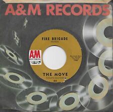 THE MOVE  Fire Brigade / Walk Upon The Water  45 from 1968  ROY WOOD  JEFF LYNNE