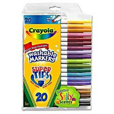 Crayola Super Tip Washable Markers 20 ea (Pack of 2)