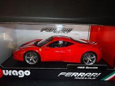 Bburago Ferrari 458 Speciale Red 16002 1/18
