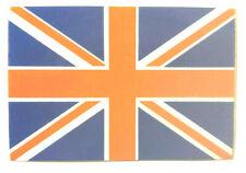 Groß Britanien Union Jack Aufkleber Flagge Fahne Fussball 7x4,5cm Sticker #1441