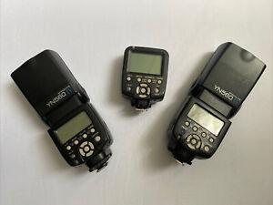 Two Yongnuo YN560 IV Flashes With YN-560-TX Trigger