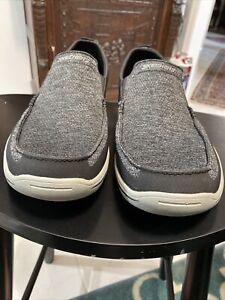 **Skechers Harper-Moven 65032 Loafers, Men's Size 14 M Black/gray