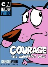 COURAGE THE COWARDLY DOG: SEASON FOUR 4  - DVD - Region 1 - Sealed