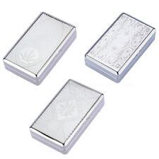 Tinplate Flip Open Tobacco Box Cigarette Storage Case Holder For 20pcs Cigarette