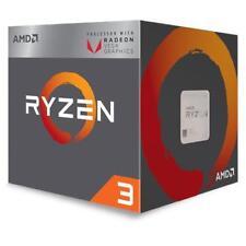 AMD Processore Ryzen 3 2200G Quad Core 3.7 GHz Socket AM4 Boxato con Scheda Graf