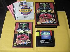 The Haunting Starring Polterguy (Sega Genesis, 1993) Complete in Box