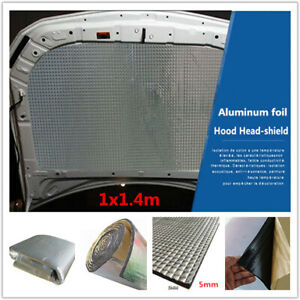 Universal Heat Shield Pad Car Engine Noise Turbo Exhaust Muffler Insulation Mat