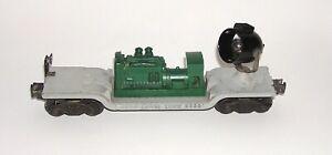 Scarce Lionel No. 6520 Searchlight Car Green Generator Black Light (DAKOTApaul)