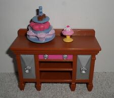 Fisher Price Loving Family Dollhouse Buffet Table with Desserts