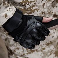 Soft Microfiber half finger tactical gloves fitness sports outdoor men gloves.l