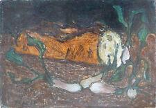 Raoul PRADIER (1929-2017) HsT de 1952  Nle Ecole de Paris Jeune Peinture