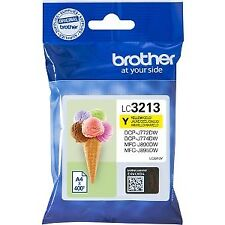 Tinta Brother Lc3213y Dcpj572/772/774/mfcj890/895dw Ori amarillo
