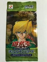 Yu-Gi-Oh YuGiOh Konami 2000 Limited Edition 2 Joey Pack SEALED Pack Japanese WJ