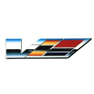 """Supercharged Cadillac STS-V Large Wall Emblem 30"""" by 7"""""""