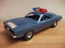 DODGE CHARGER 500 (1969) plastica1/18 (HAZZARD- GENERAL LEE)  police usa ANNI 70