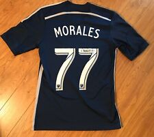 Adidas Vancouver Whitecaps Pedro Morales Jersey MLS Soccer Football Auto Signed
