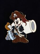 Disney Disneyland Pirates of the Caribbean Lanyard Cannon Mickey Mouse Pin 46537