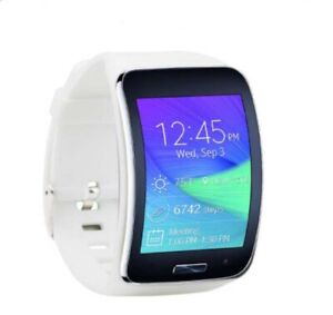 Samsung Galaxy Gear S SM-R750 Curved Super AMOLED Smart Watch - White