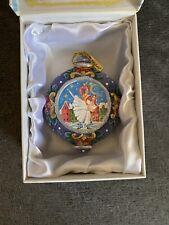 G. Debrekht Nutcracker Ballet Scenic Glass Ornament c2011 in box NEW