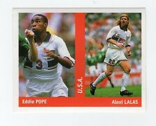 figurina DS CALCIATORI WORLD CUP FRANCE 98 NUMERO 271 U.S.A. POPE, LALAS