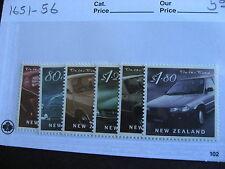 NEW ZEALAND Cars Automobiles set Sc 1651-56 MNH