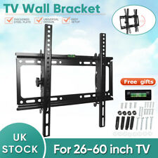"LCD LED Plasma TV Wall Bracket Vesa Mount Tilting 26 32 34 40 42 50 55 60"" Inch"
