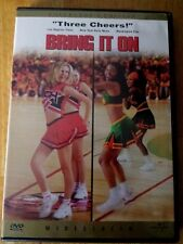 Bring It On (DVD, 2001, Collectors Edition) Kristen Dunsst Sassy Movie film Game
