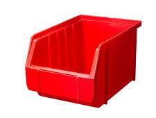 Sonderangebot 100 Stapelboxen ROT Gr.3 Schraubenboxen 23x 15x 12,5 cm NEU 1A