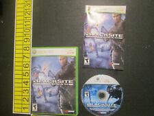 BlackSite: Area 51 (Microsoft Xbox 360, 2007)
