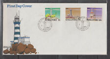 Singapore Stamps 1982 Lighthouses set on FDC