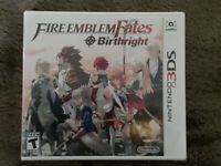 Fire Emblem Fates: Birthright (3DS, 2016), BRAND NEW!! FACTORY SEALED!!