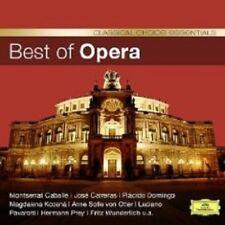 BEST OF OPERA (CC) CD CABALLE DOMINGO UVM NEU