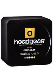 Headgear Mens 100g Professional Cruel Clay Alcohol-Free Extreme Hold Matte NEW