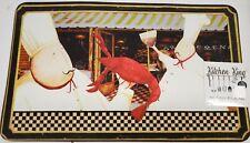 "ANTI FATIGUE KITCHEN CUSHION MAT (18"" x 30"") 2 FAT CHEFS & RED LOBSTER, KK"