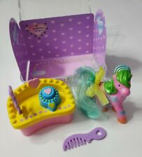 MINI PONY LUV JEWELRY BOUTIQUE TOY SET TARA TOY GROUP PINK PLAYSET CARRY CASE