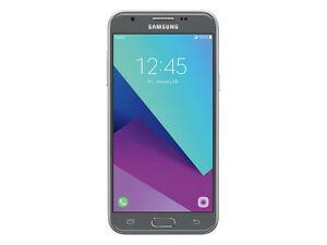 Samsung Galaxy J3 SM-J327TI  16GB - Black (Metropcs ) 7/10