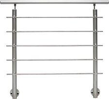 AB5 Alu Geländer Set 1,5 m (seitliche Montage) Balkongeländer  Treppengeländer