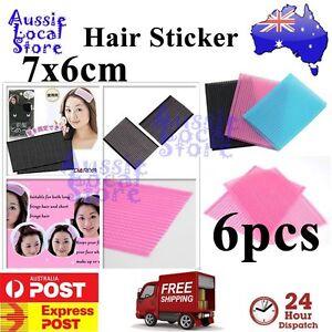 6 pcs Hair Fringe Grip Pad Sticker Holder Stabilizer Makeup Washing Face