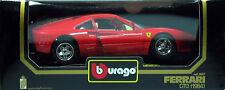 10 BURAGO FERRARI GTO 1984 ROUGE N°3027 1 18