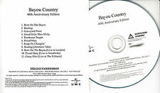 CREEDENCE CLEARWATER REVIVAL Bayou Country 40th UK 11-trk numbered promo test CD