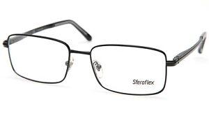 New Sferoflex 2262 136 Black EYEGLASSES GLASSES FRAME 55-17-145mm
